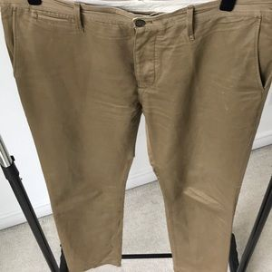 Burberry Brit cotton and linen chinos for men